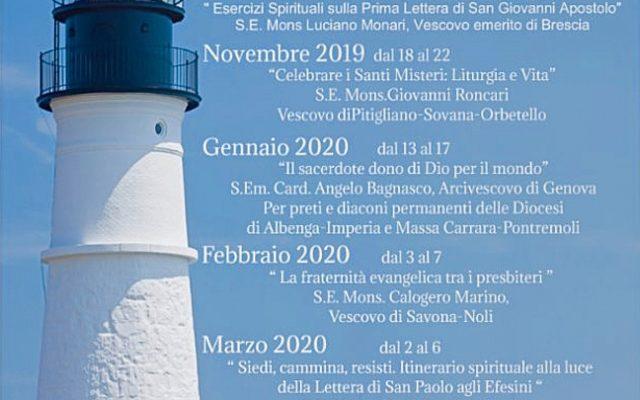 Calendario Esercizi Spirituali 2020.Diocesi Di Albenga Imperia